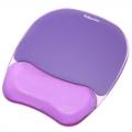 Fellowes/范罗士 CRC91441水晶医用硅胶鼠标垫 护腕垫 腕托